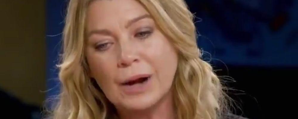 Ellen Pompeo, la Meredith di Grey's Anatomy: 'Io e Patrick Dempsey non ci siamo più parlati'