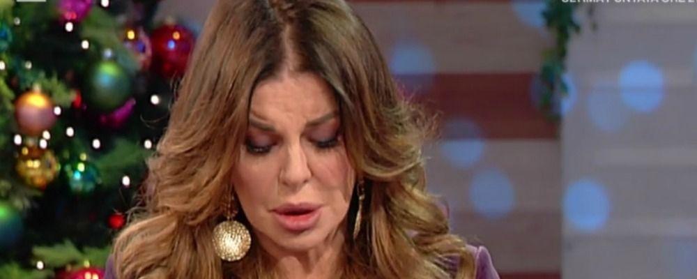 Vieni da me, Alba Parietti in lacrime: 'Ho dovuto fare una cosa orribile'