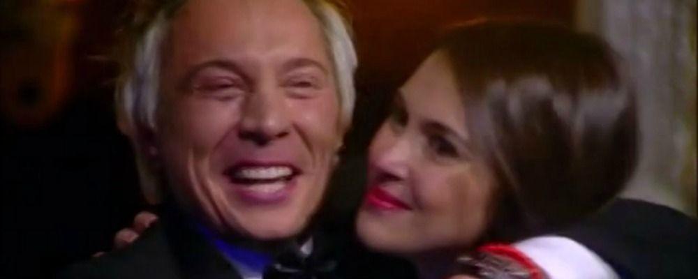 Grande Fratello Vip 2018 finale: Andrea Mainardi riabbraccia Tripolina, la fidanzata Anna