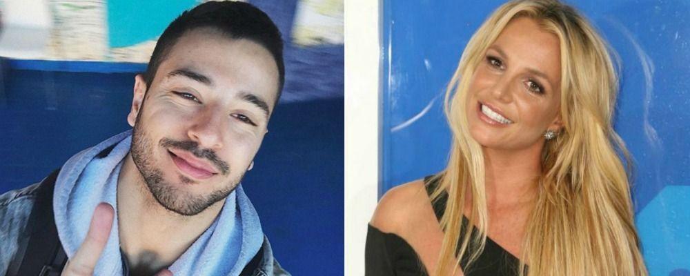 Amici, Giuseppe Giofrè realizza il suo sogno e diventa ballerino di Britney Spears