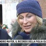 Morte Sandro Mayer, a Storie italiane la commozione della figlia Isabella