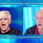 Domenica Live, lite tra Manuela Villa e Damiano Caltagirone: volano querele