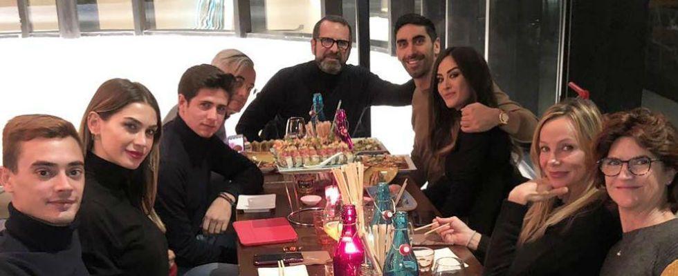 Melissa Satta, Natale senza Boateng (ma con Filippo Magnini)