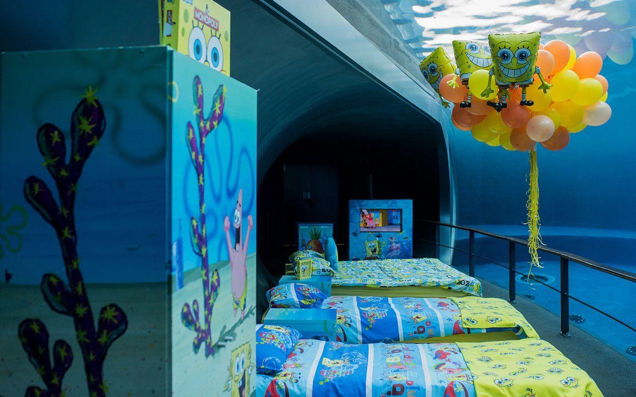 6a3c6da1b3 Spongebob, all'Acquario di Genova la notte gialla – Tvzap