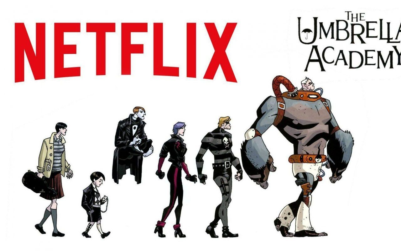 The Umbrella Academy, la serie tratta dal fumetto di Gerard