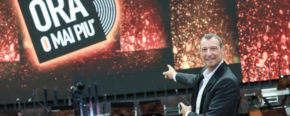 Amadeus torna con Ora o mai più 2019: 'Il talento non basta, serve fortuna'
