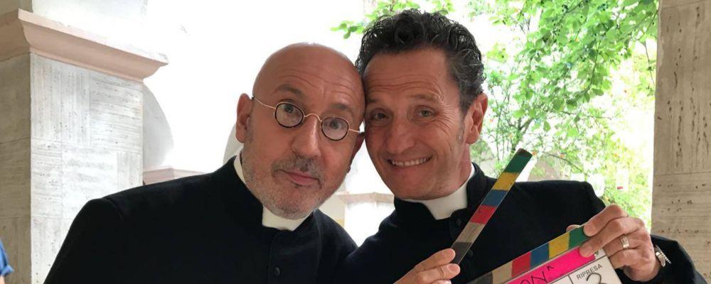 Din don - Una parrocchia in due: trama e cast del film con Maurizio Battista ed Enzo Salvi