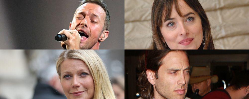 Gwyneth Paltrow e Chris Martin insieme per le feste con i nuovi compagni