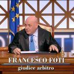 """Forum, il giudice Antonio Foti torna e cita Enzo Tortora: """"Dove eravamo rimasti"""""""