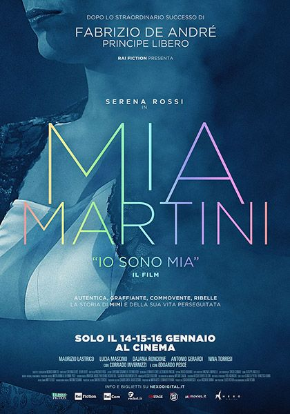Io sono Mia, Serena Rossi nei panni di Mia Martini: 'Sciolta