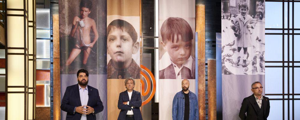Masterchef 8, terza puntata: i quattro giudici in versione bambini per l'Invention Test