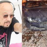 Enrico Ruggeri illeso per miracolo dopo un testacoda di 400 metri in autostrada