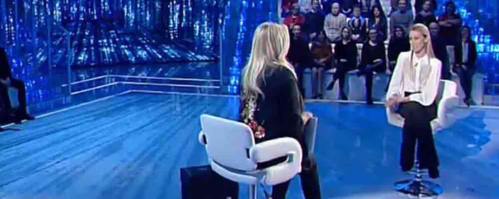 Domenica In, Eleonora Abbagnato in lacrime per il messaggio di Federico Balzaretti