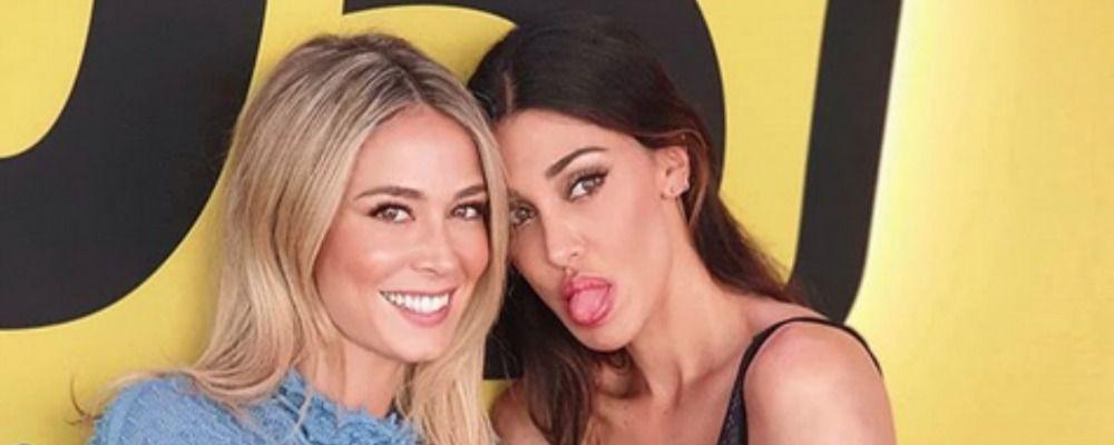 Belen Rodriguez e Diletta Leotta alleate contro il Blue Monday mandano in tilt il web