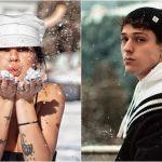 Giulia De Lellis, compleanno d'amore con Irama sulla neve