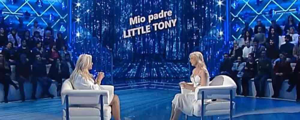"""Little Tony, la figlia Cristiana Ciacci racconta: """"Il folle e grande amore dei miei genitori"""""""