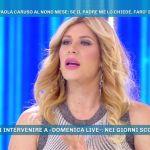 Paola Caruso, annuncio a Domenica Live: 'Chiederò il DNA del mio bambino'