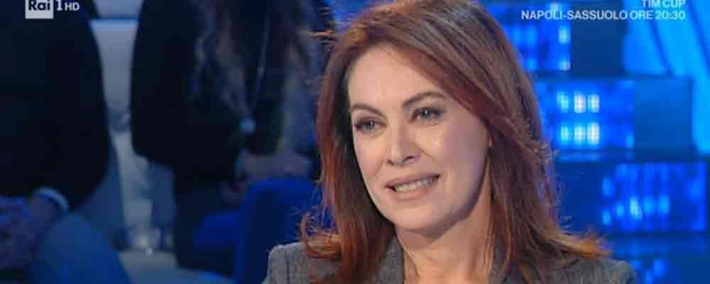 """Domenica In, l'appello al governo di Elena Sofia Ricci: """"No al rito abbreviato per i reati sessuali"""""""