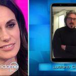 Vieni da me, Rossella Brescia si commuove con il messaggio di Luciano Cannito