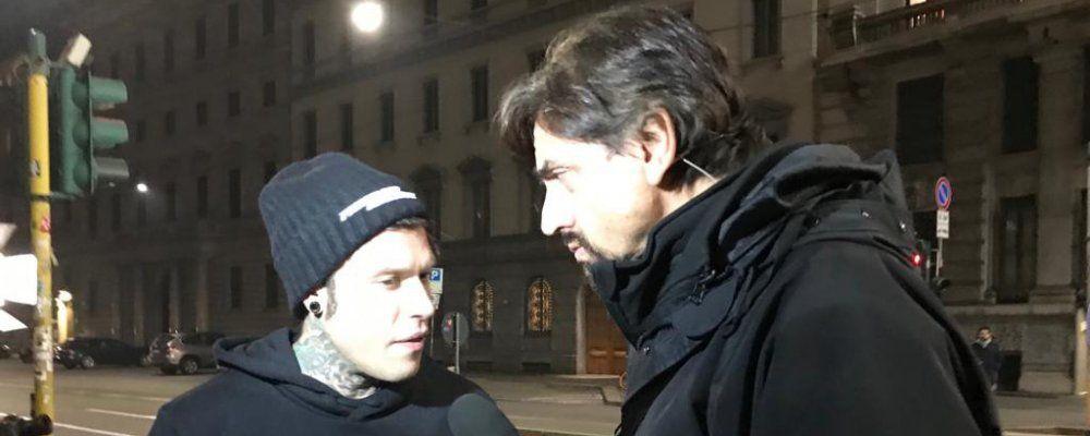 Striscia la notizia, Tapiro d'oro a Fedez per la presunta relazione con Silvia Provvedi