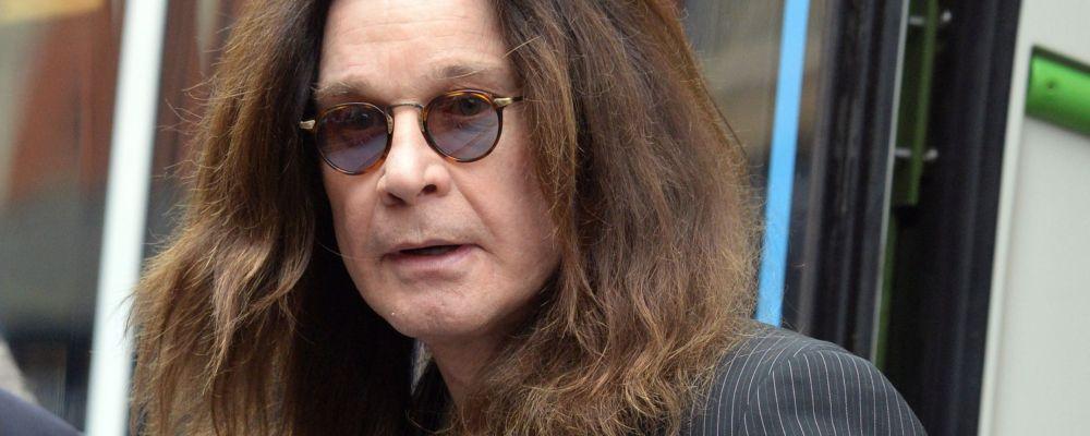 Ozzy Osbourne ricoverato in ospedale per le complicazioni di un'influenza