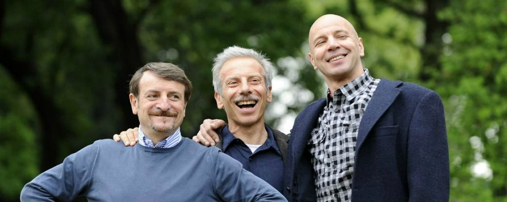 Aldo, Giovanni e Giacomo: il trio non si scioglie e annuncia il nuovo film