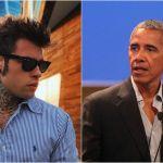Fedez in palestra con Obama, ma lui gli nega un selfie insieme