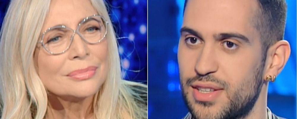 Mara Venier pazza di Mahmood, il dettaglio che non sfugge al pubblico