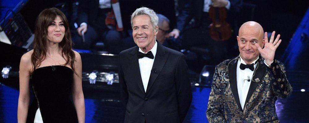 Sanremo 2019, Claudio Baglioni ricorda Frizzi 'Avevo pensato a lui per la conduzione'