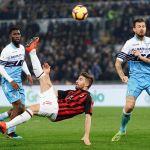 Ascolti tv, con oltre 5 milioni vince la sfida Lazio - Milan