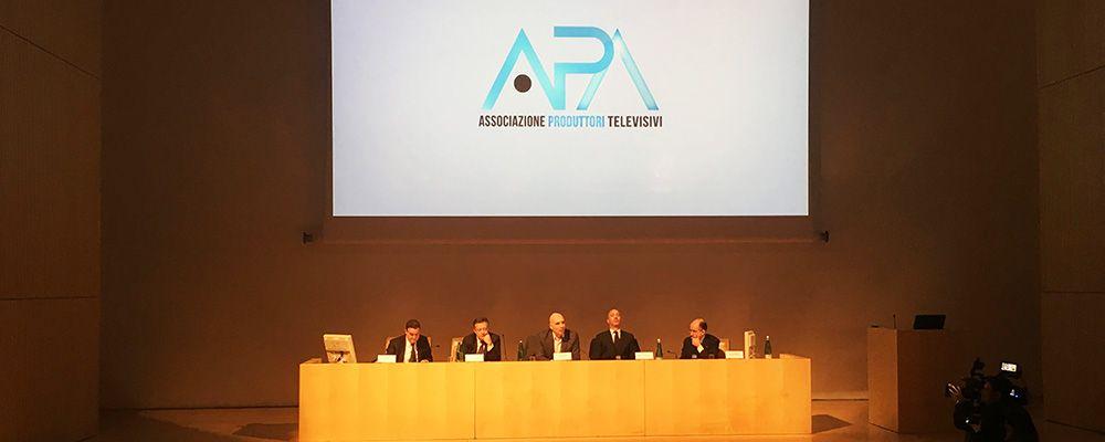 """APA - Associazione Produttori Audiovisivi, Giancarlo Leone: """"E' boom per la fiction italiana, nel 2017 dal settore 1 miliardo di euro"""""""