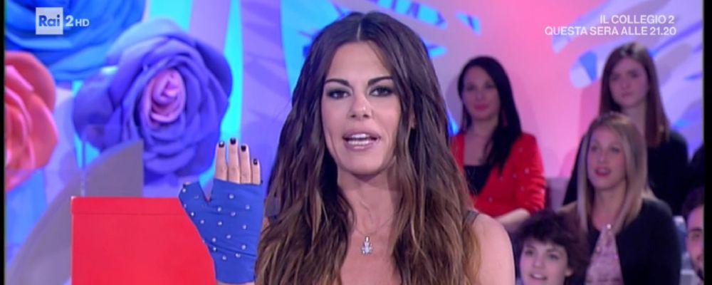 Bianca Guaccero a Detto Fatto con la mano fasciata: ecco il motivo
