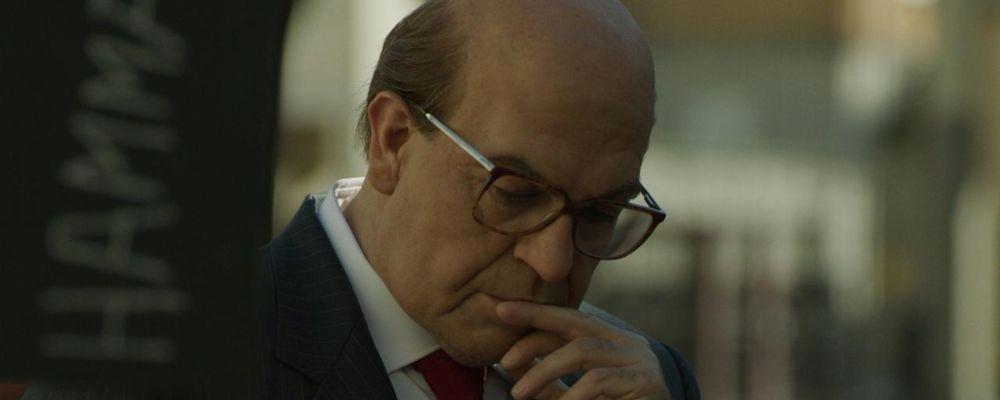 Pierfrancesco Favino è uguale a Bettino Craxi: la foto choc dal set di Hammamet