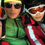 Gabriel Garko, Eva Grimaldi e Imma Battaglia: tutti insieme appassionatamente sulle nevi