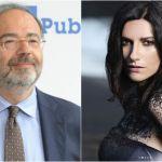 Massimo Bernardini si scusa con Laura Pausini: 'Non ha capito niente di quel tweet'
