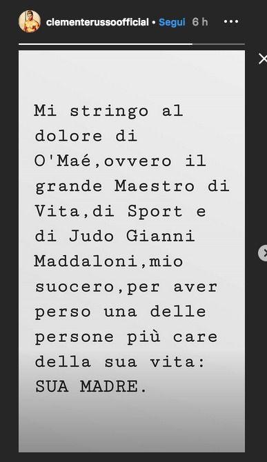 Isola dei famosi 2019 |  grave lutto per Marco Maddaloni |  la decisione del judoka