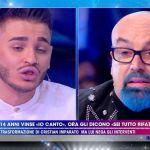 Live Non è la D'Urso, Cristian Imparato contro Giovanni Ciacci: 'Io rifatto? Finiscila'