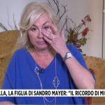 Sandro Mayer, la figlia Isabella lo ricorda in lacrime a Storie italiane: 'Un vuoto incredibile'