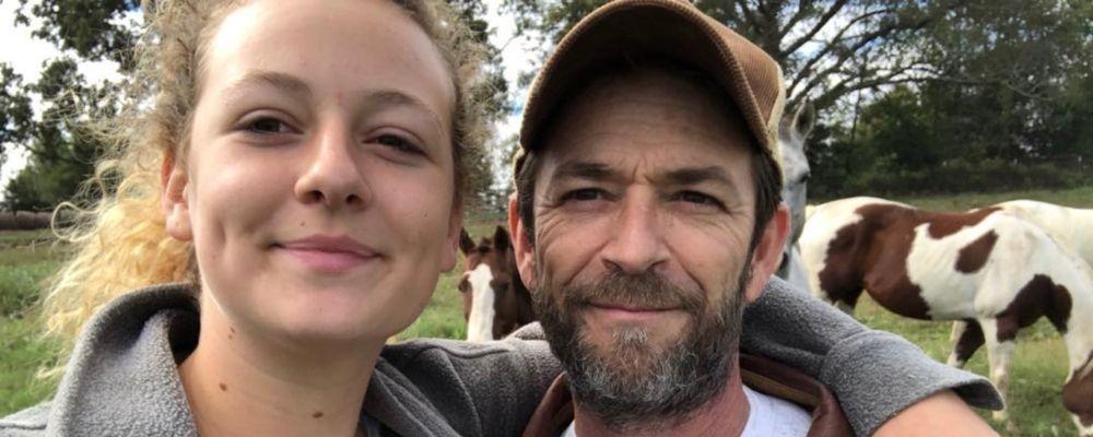 Luke Perry, il commovente messaggio della figlia sui social