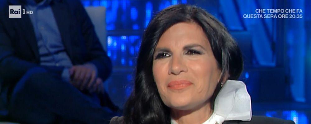 """Domenica In, Pamela Prati: """"Sono moglie e mamma, è lo spettacolo più bello"""""""