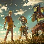 La serie animata di Dragonero per la Rai Ragazzi, prime immagini
