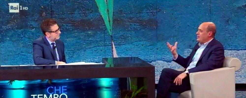 Ascolti tv, Che tempo Che fa sfiora i 4 milioni e vince su Il silenzio dell'acqua