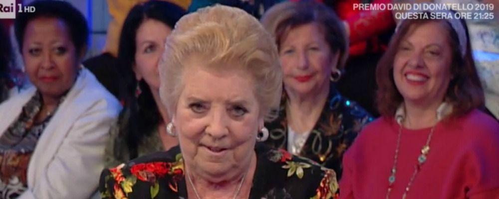 Vieni da me, Wilma De Angelis spiazza Caterina Balivo: 'Ho fatto l'amante per dieci anni'