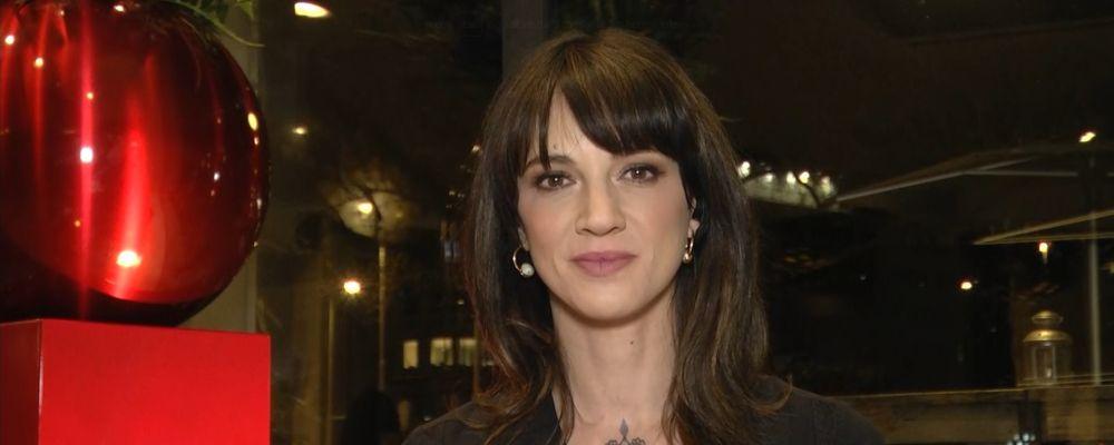 Live - Non è la D'Urso, Asia Argento: 'Weinstein? Quello che ha detto Morgan mi ha disgustato'