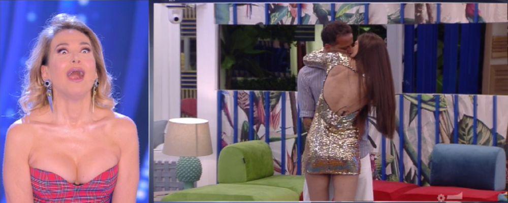 Grande Fratello 2019, bacio tra Kikò Nalli e Ambra Lombardo