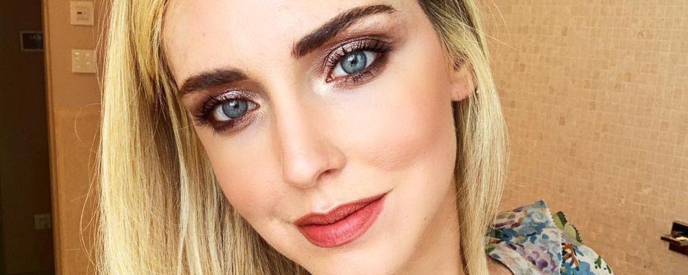 Chiara Ferragni, la prima foto della figlia su Instagram