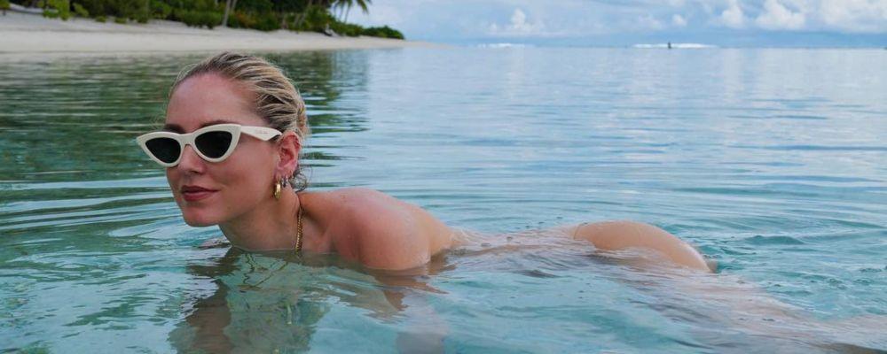 Chiara Ferragni, la foto senza veli in Polinesia fa impazzire i fan