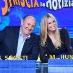 """Striscia la notizia, torna la Hunziker con Gerry Scotti: """"Oggi più che mai fiera di portare allegria"""""""