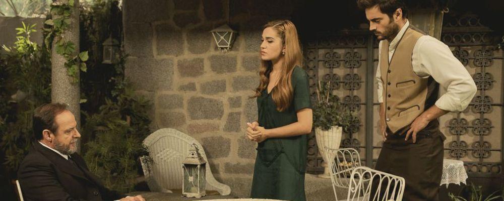 Il segreto: Raimundo caccia Saul e Julieta, anticipazioni trama puntata martedì 9 aprile