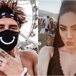 Coachella Festival, Andrea Damante e Giulia De Lellis sempre più vicini: la foto